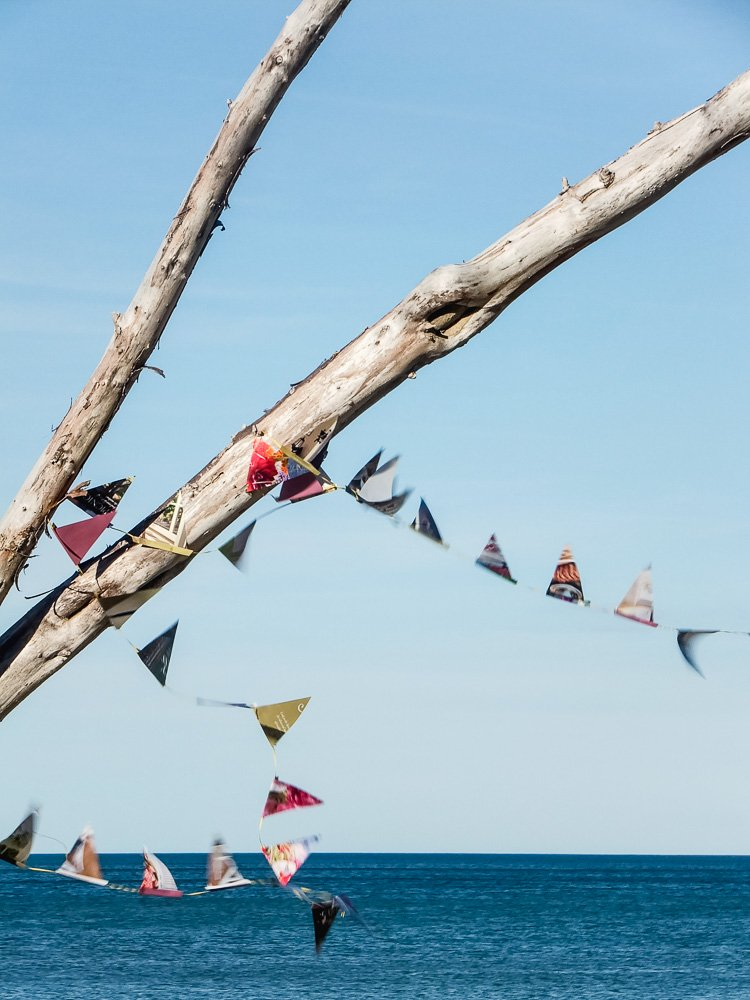 paper flag bunting