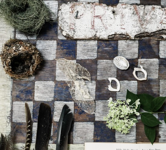 natural collections via perfectly imperfect living
