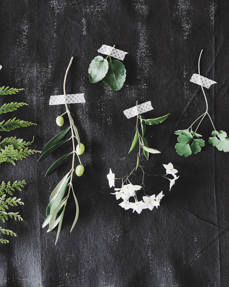 winter greenery via perfectly imperfect living