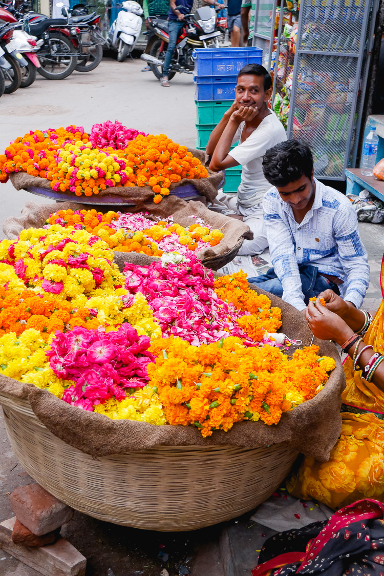 flower sellers via perfectly imperfect living