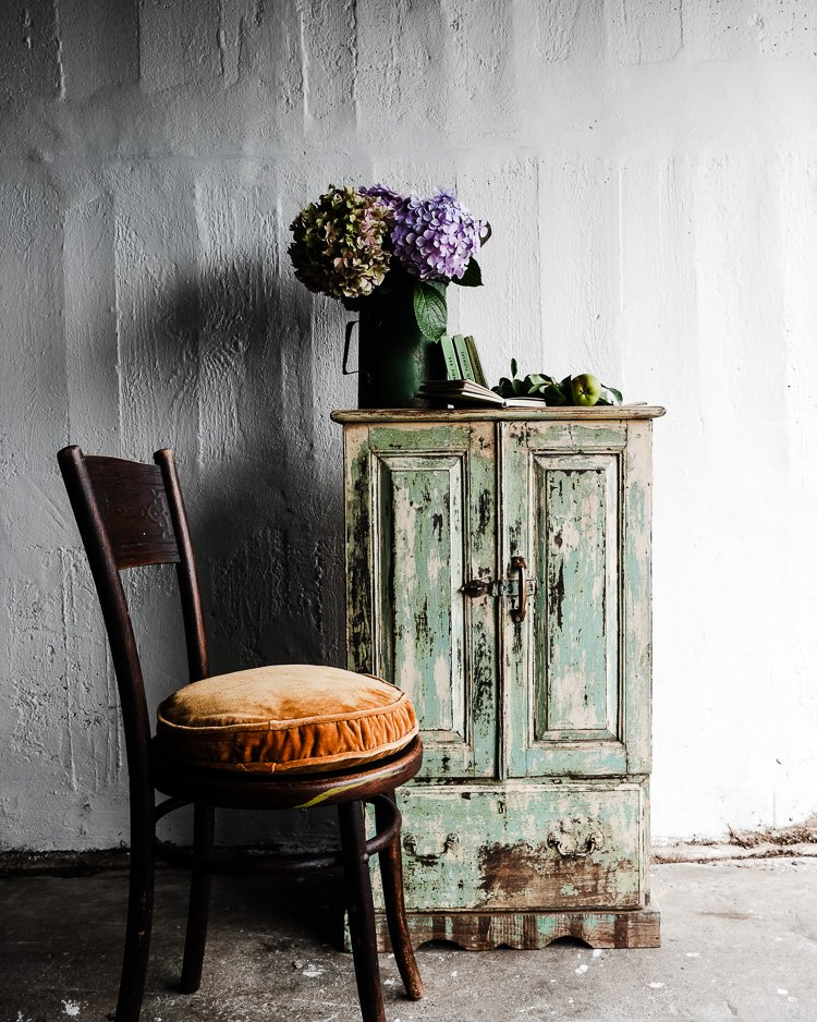 vintage indian furniture via perfectly imperfect living