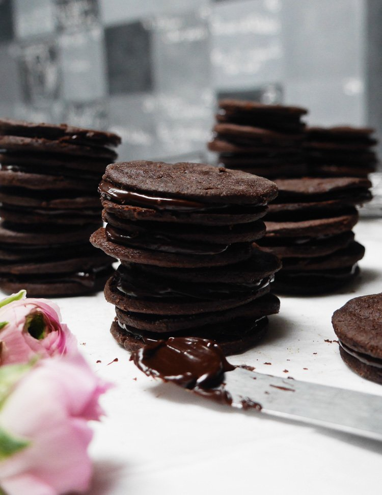making a house magical and chocolate cookies via perfectly imperfect living