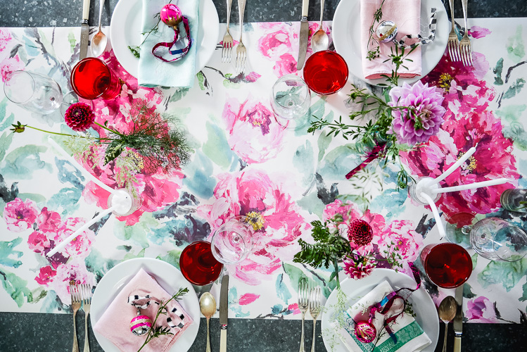 festive table ideas via perfectly imperfect living