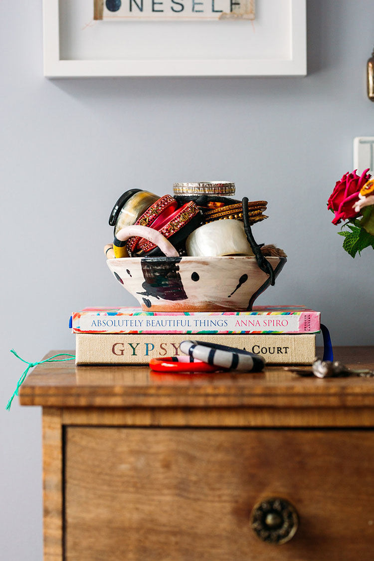 displaying your treasures via perfectlyimperfectliving