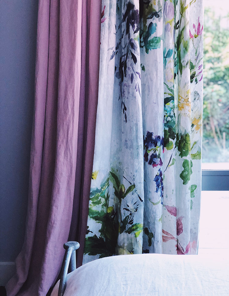 perfectly imperfect style - mix colour and pattern